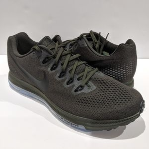 Nike Zoom Mens Running Shoes Green 878670 301